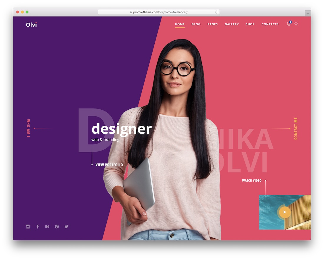 val colorful wordpress theme