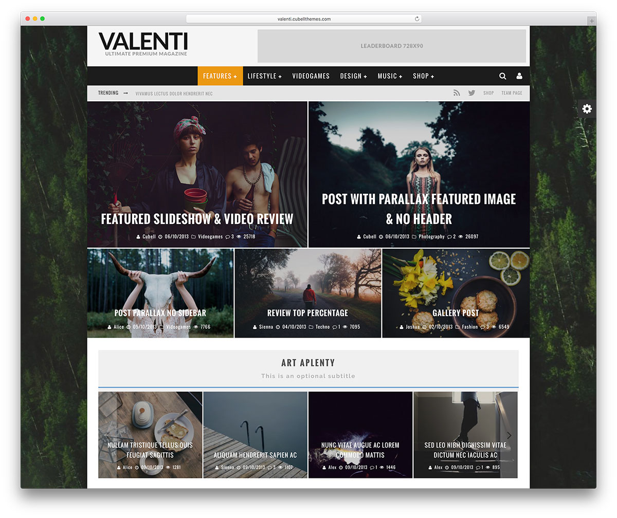 valenti-retro-wordpress-news-theme