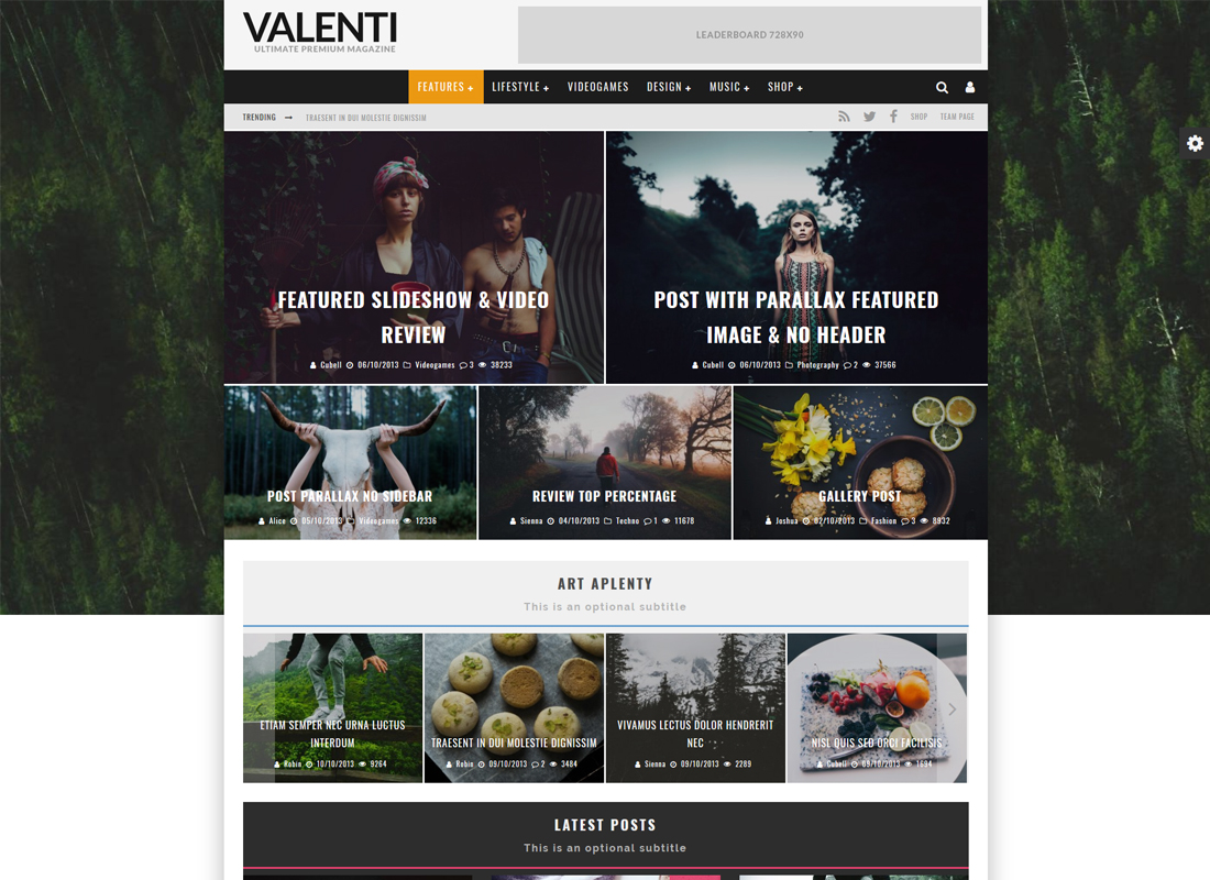 Valenti | HD Review Magazine News WordPress Theme