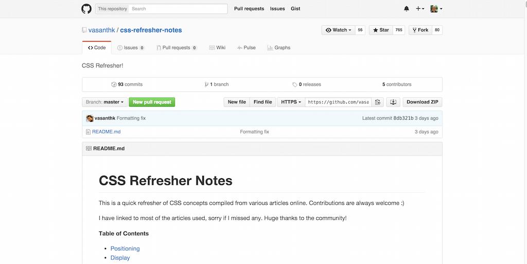 vasanthk css refresher notes CSS Refresher