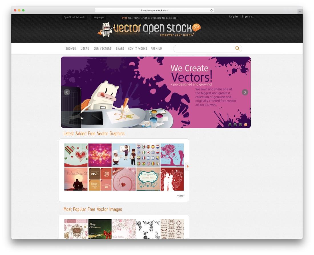 vector open stock free resource