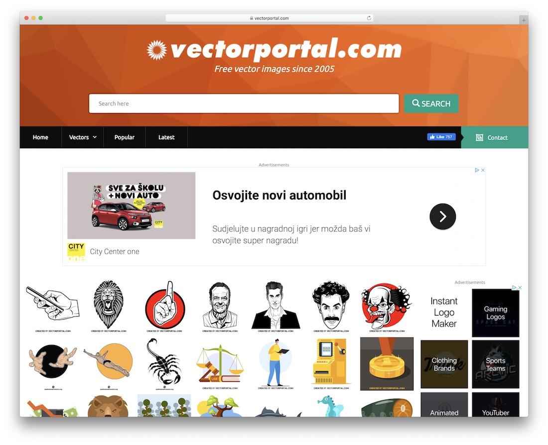 vector portal free vector images website