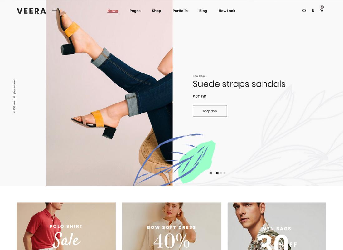 Veera | Multipurpose WooCommerce Theme