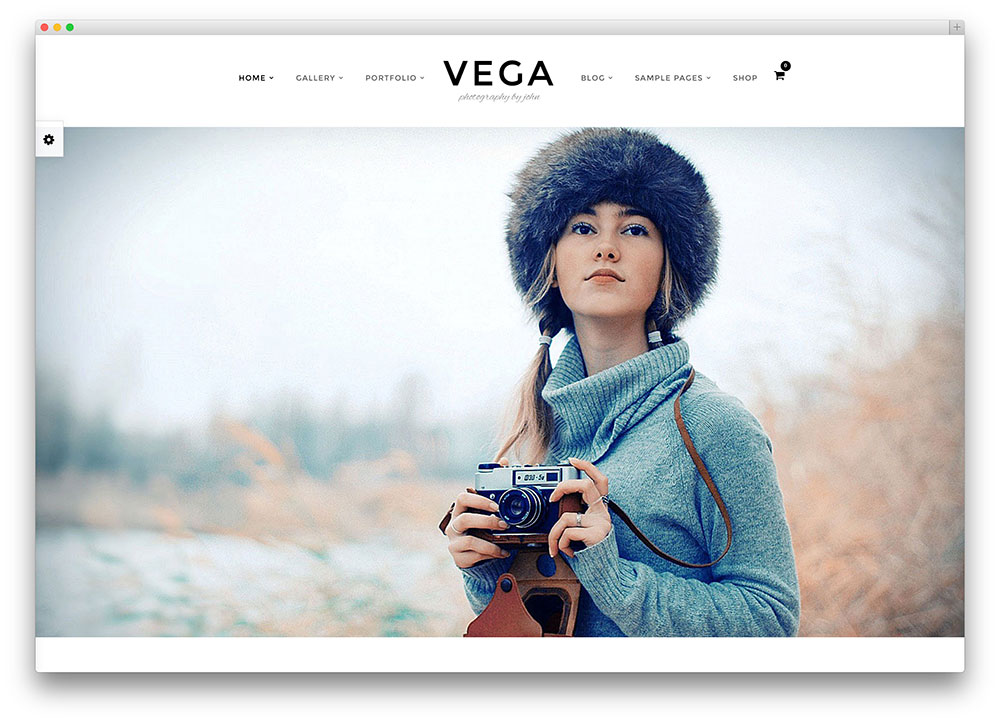 50 best photography wordpress themes 2018 colorlib for Top websites for artists