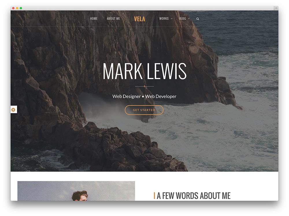 30  awesome flat design wordpress themes 2019