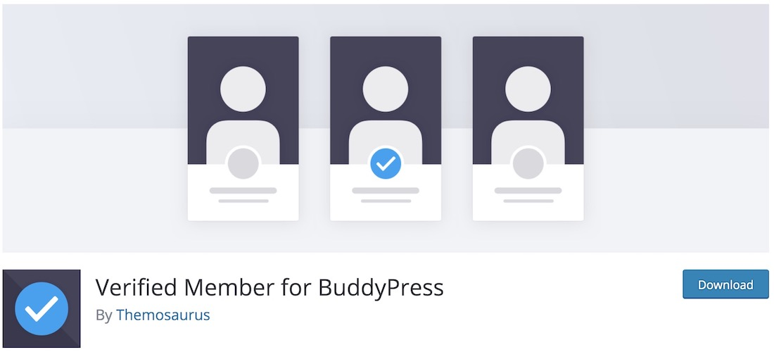verified member buddypress plugin