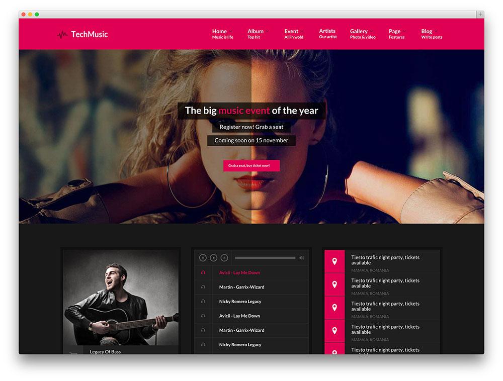 vibemusic multipurpose music template