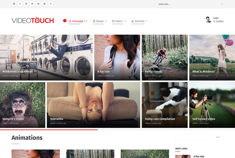 Stunning WordPress Video Themes For Embedded And Self-Hosted Videos 2016