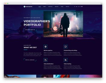 Videograph Free Template
