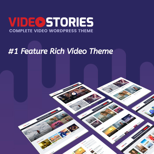 VideoStories on Colorlib