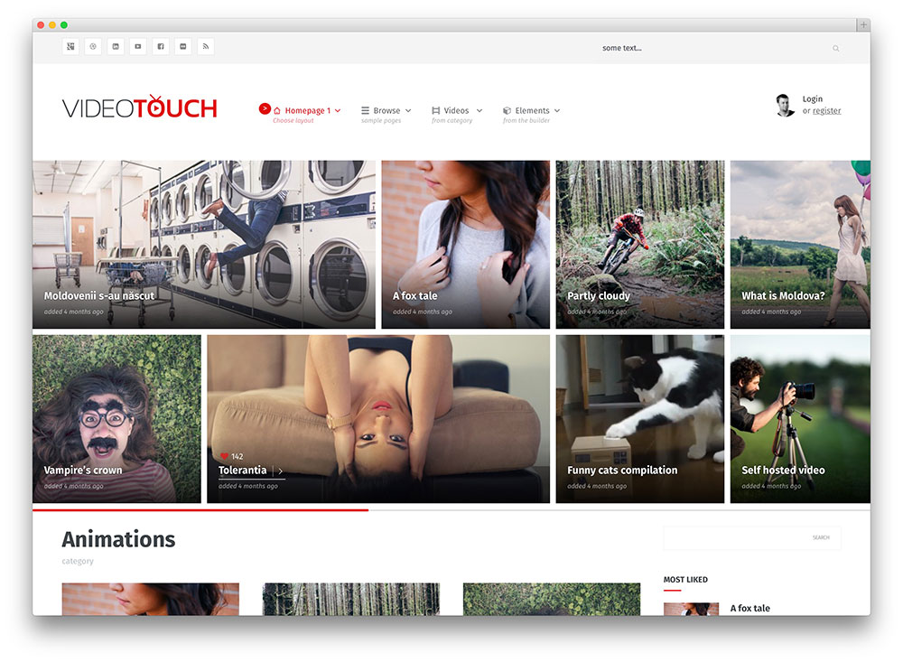 Best WordPress Video Themes For Embedded and Self Hosted Videos ...