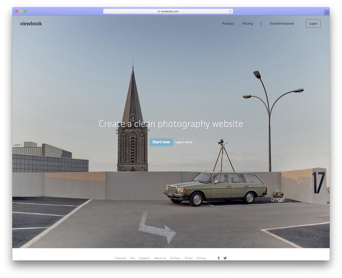 viewbook build portfolio website