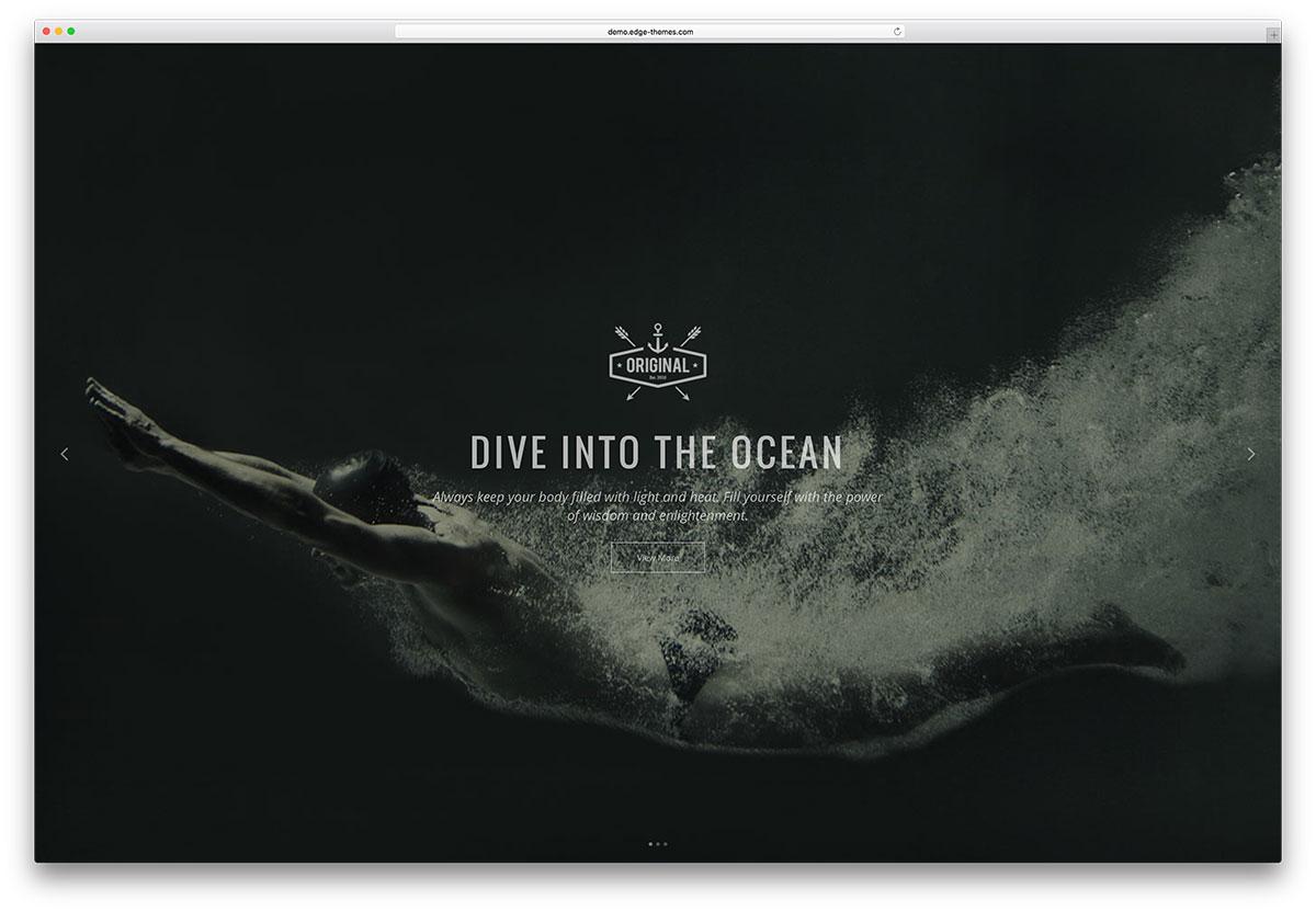 vigor-dark-fullscreen-website-template