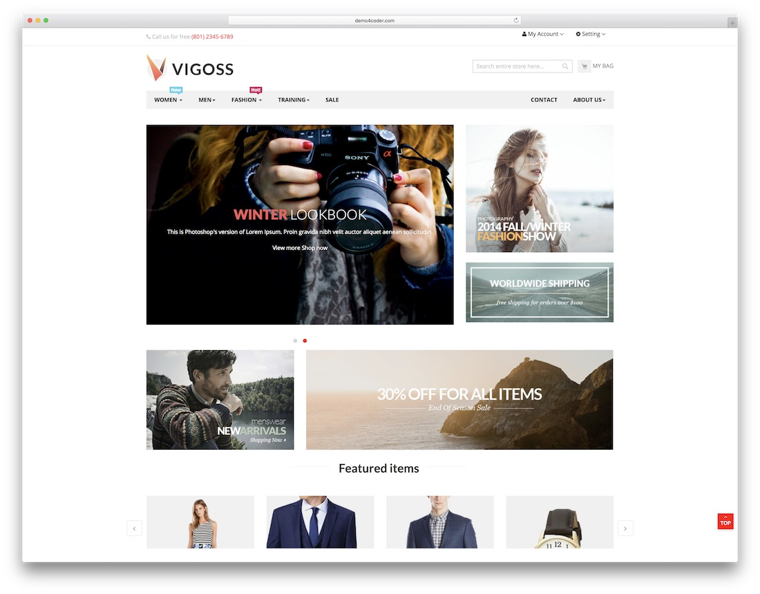 14 Free Magento Templates For Your Ecommerce Sites 2019 Colorlib
