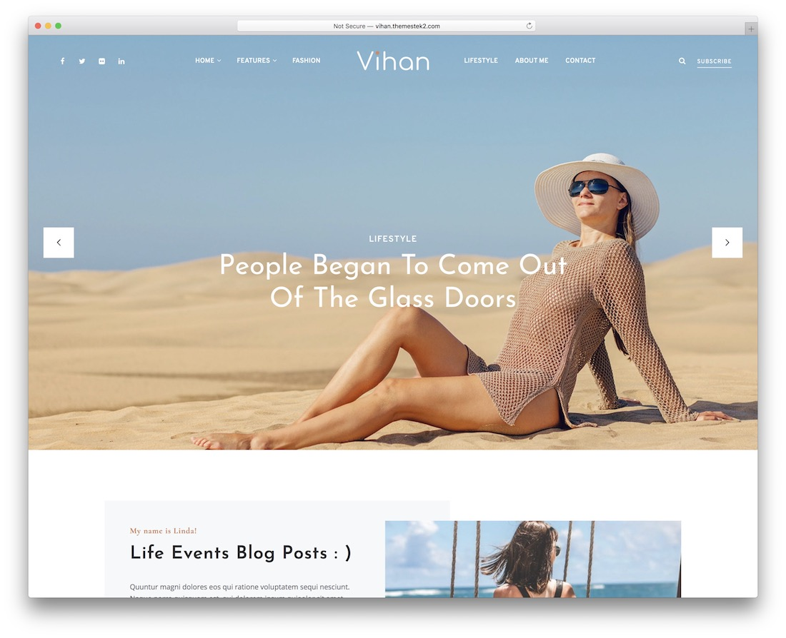 vihan wordpress travel theme