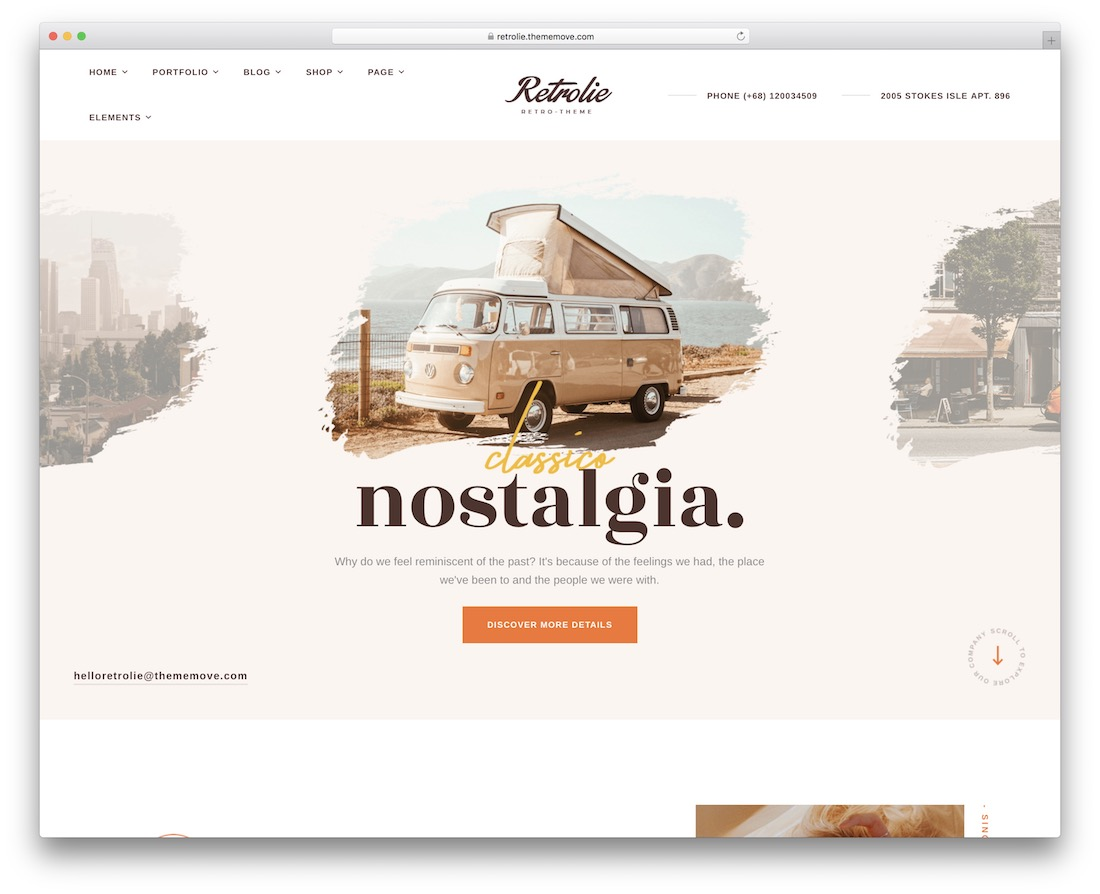 vintage retrolie wordpress theme