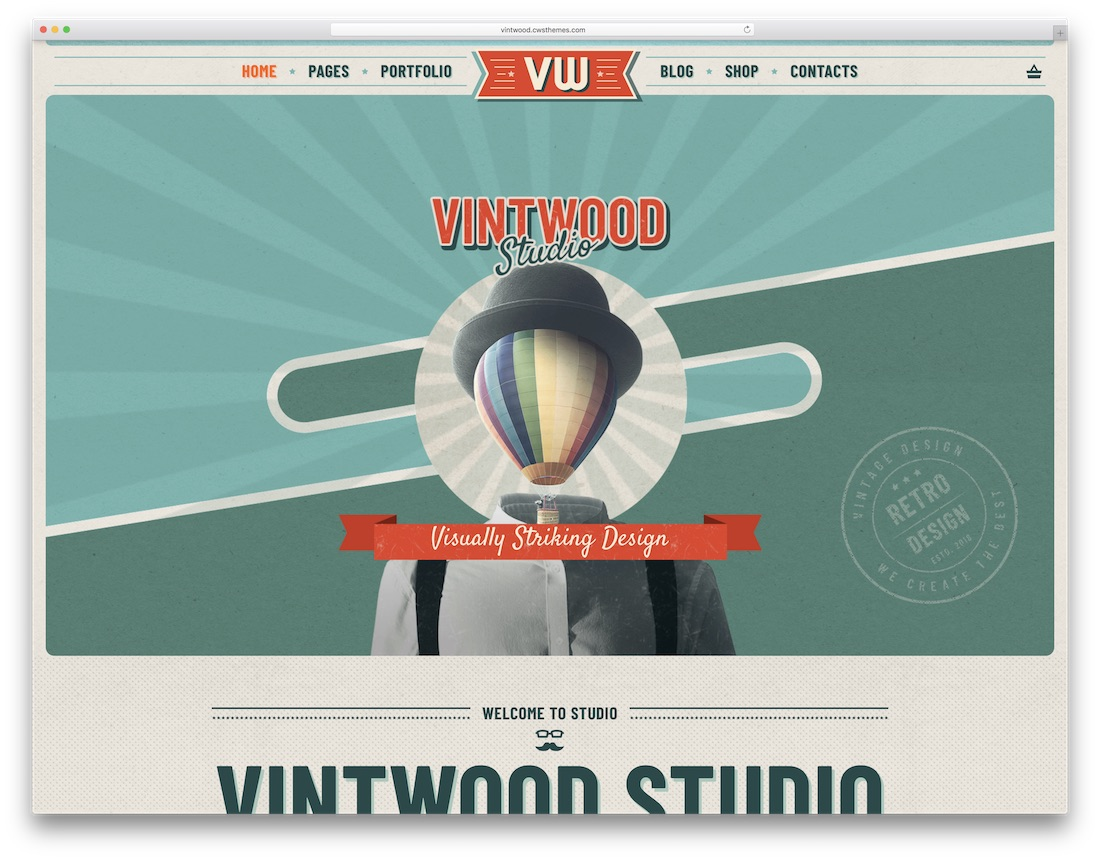 23 Best Vintage & Retro Style WordPress Themes For Hipsters And