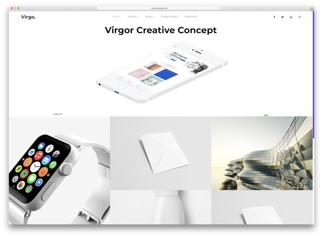 virgo ubercart theme