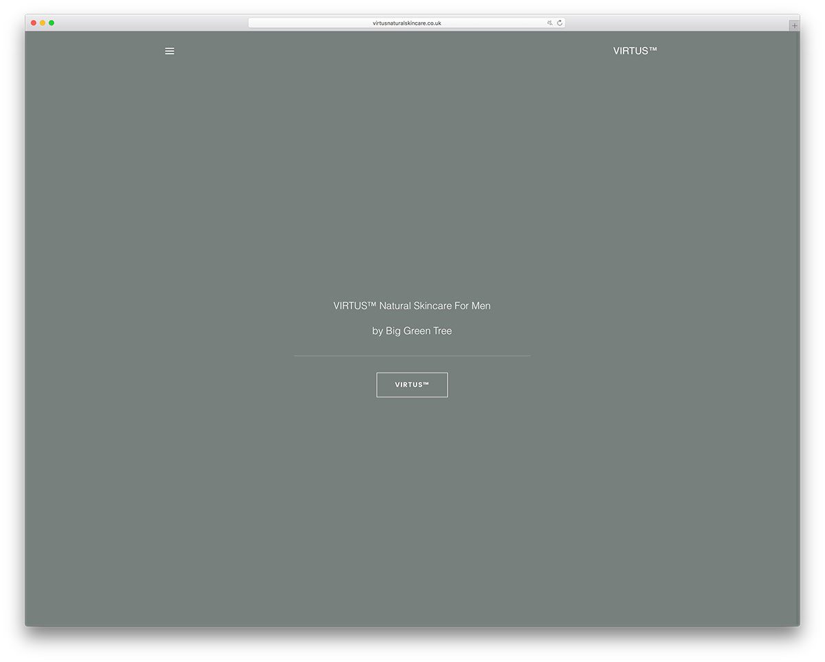 virtusnaturalskincare-minimal-brand-website-with-uncode