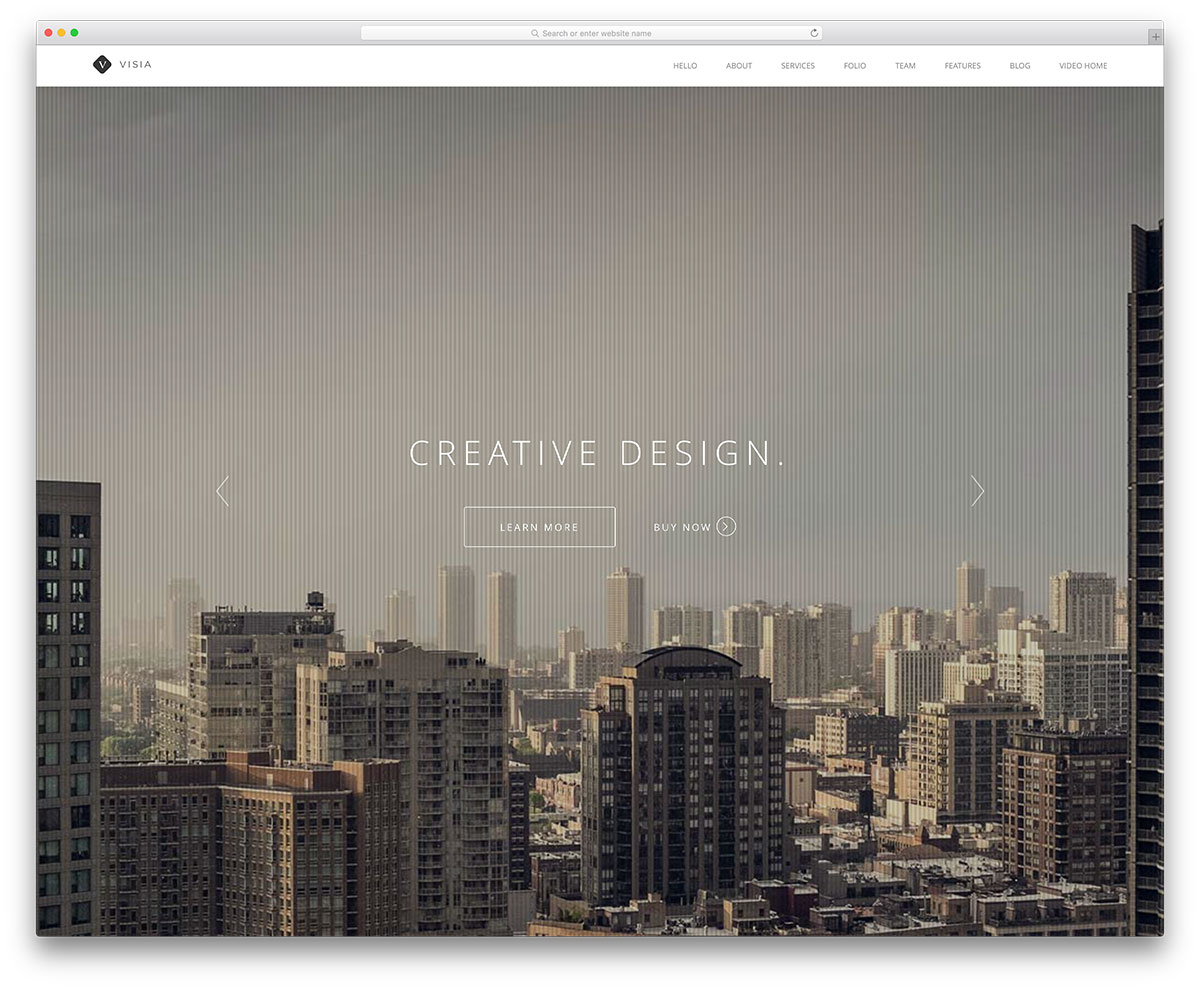 visia-creative-fullscreen-wordpress-theme