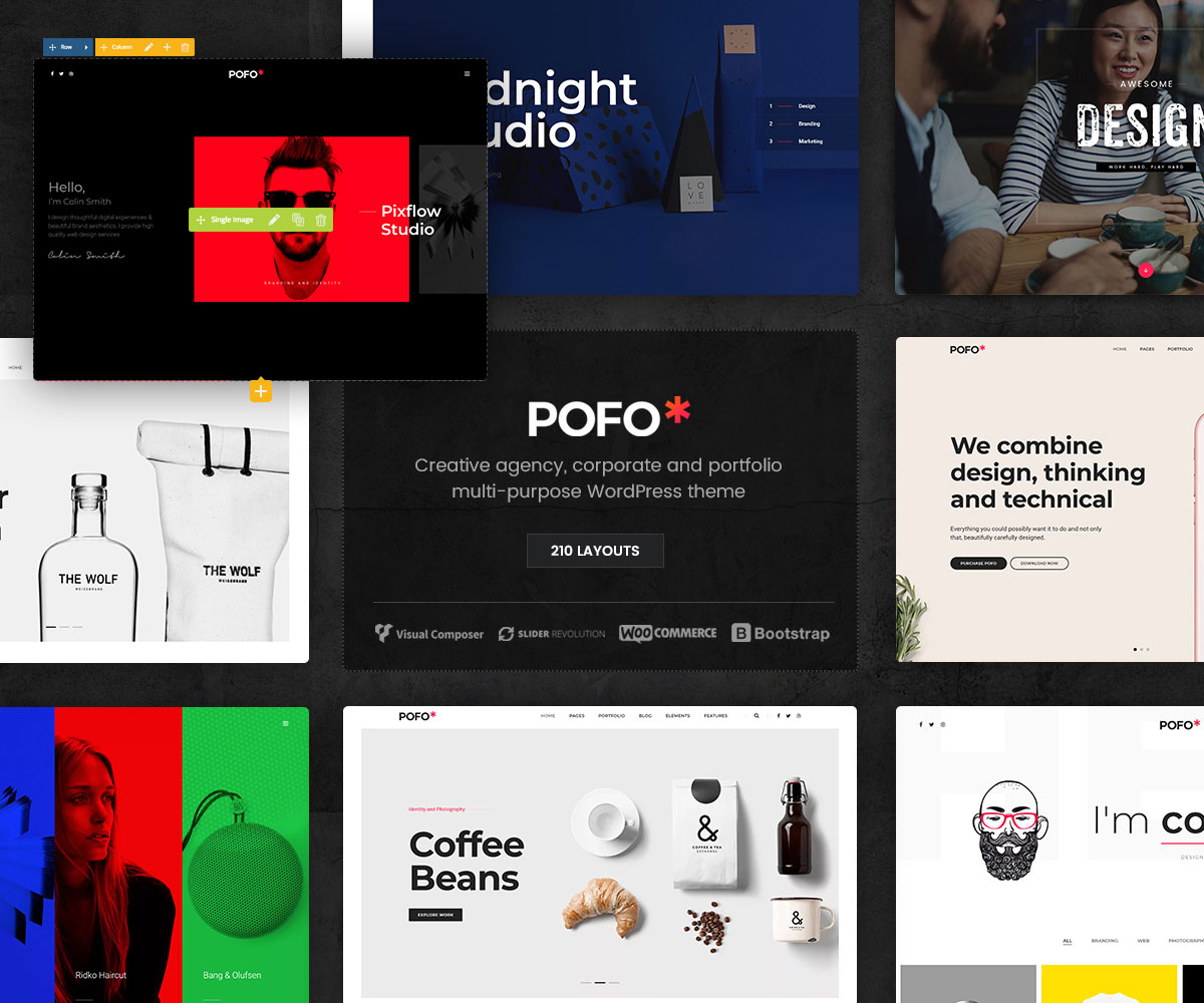 best free wordpress themes with visual composer