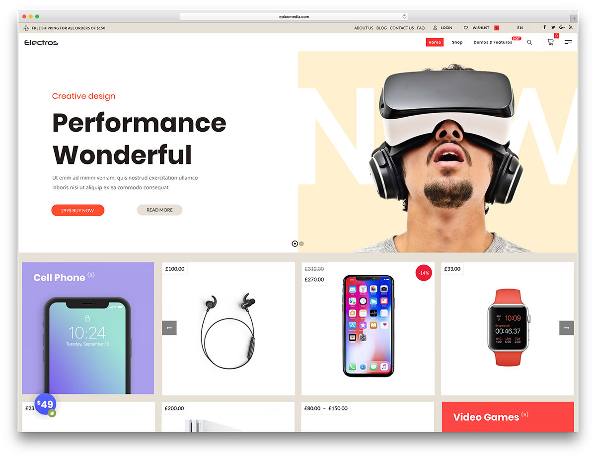 40 Awesome eCommerce WordPress Themes 2018 - Colorlib