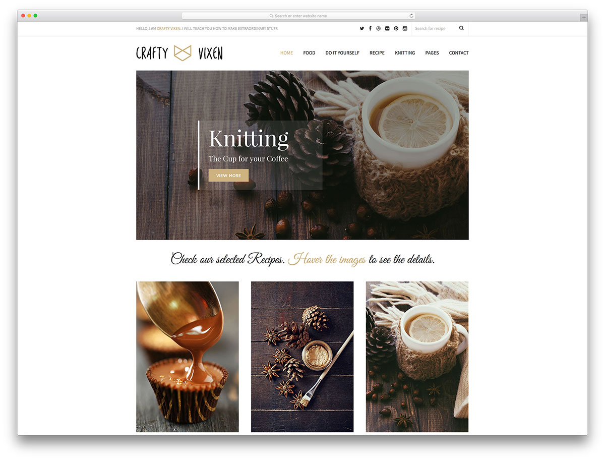vixen-minimal-wordpress-blog-theme