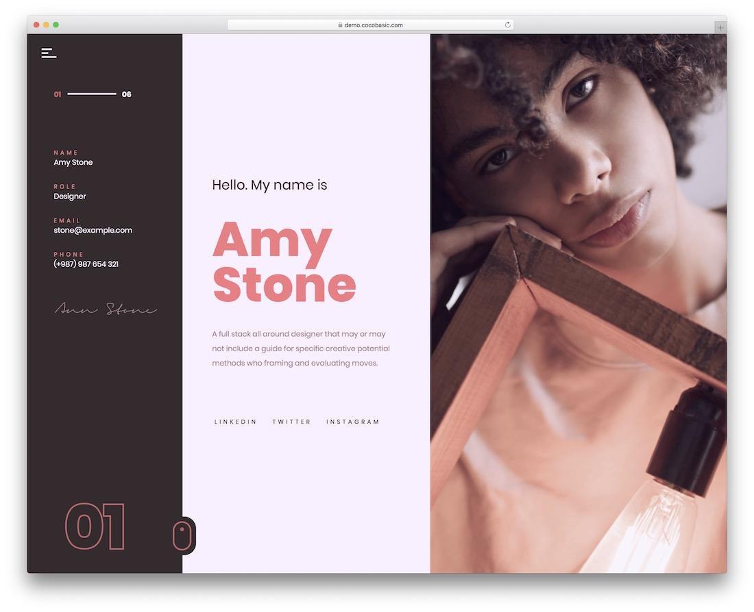 volos personal branding wordpress theme