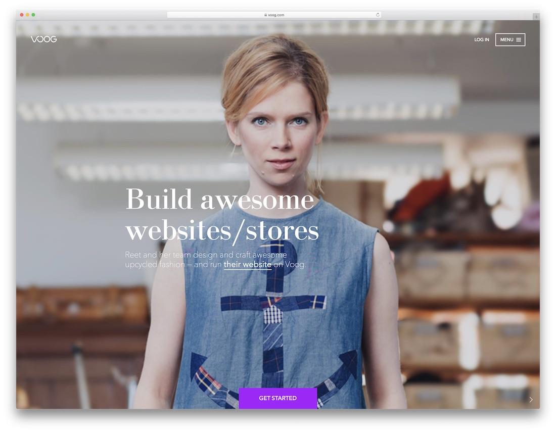 voog easiest website builder