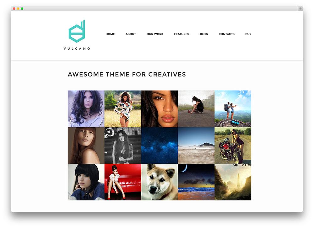 Vulcano WordPress theme