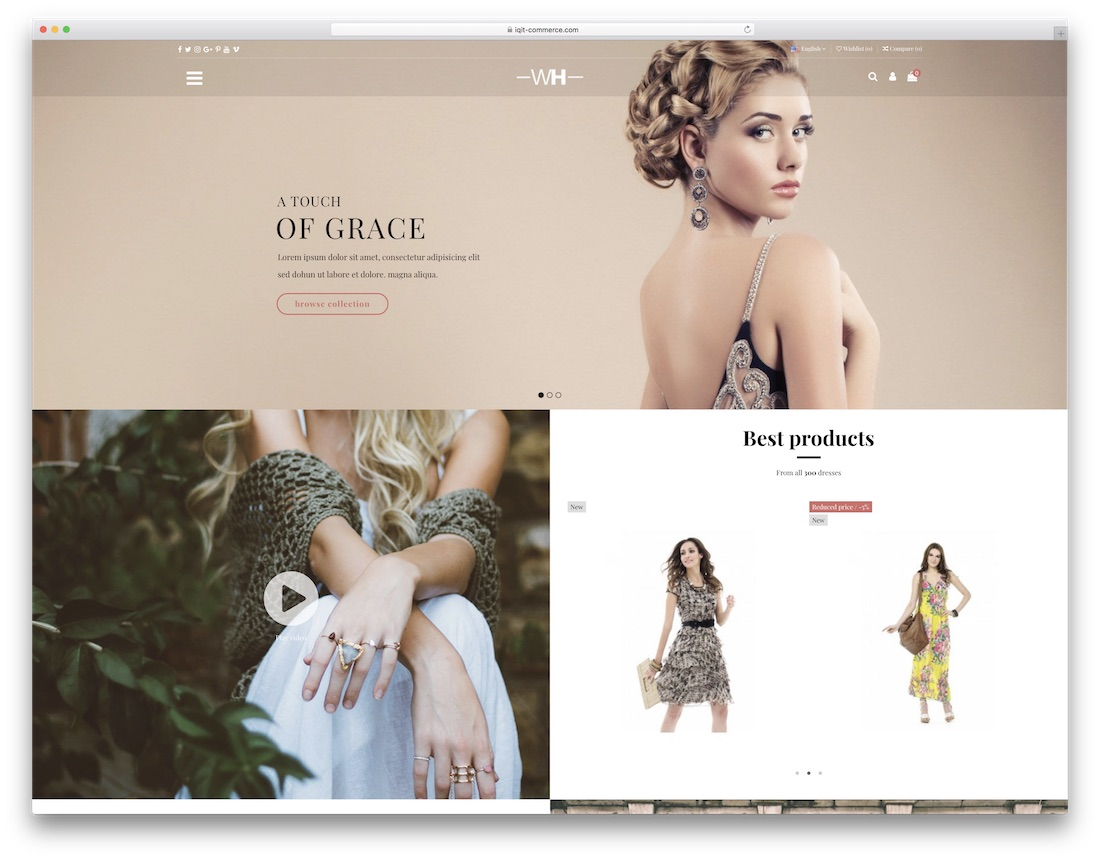 warehouse responsive prestashop theme