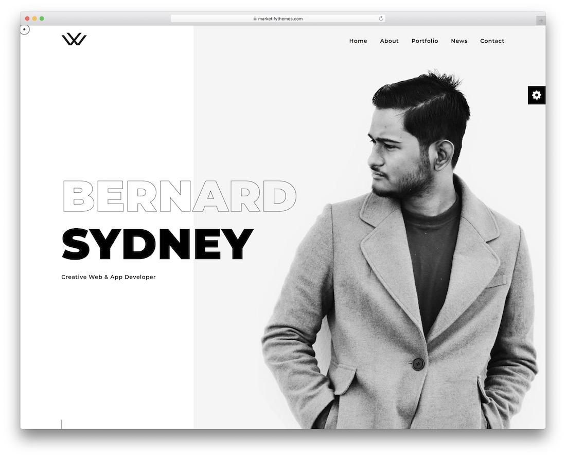 waxon website template