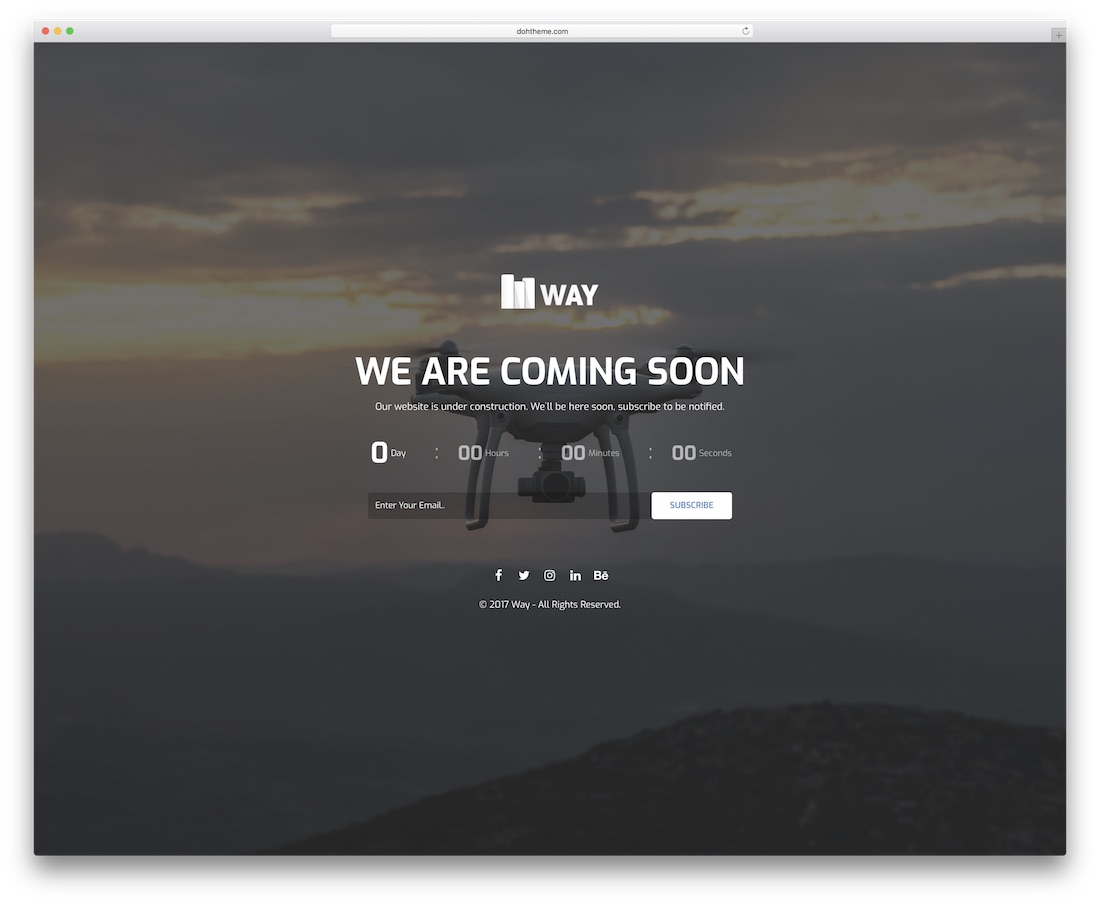 30 Best Responsive Coming Soon Page Templates 2019 - Colorlib