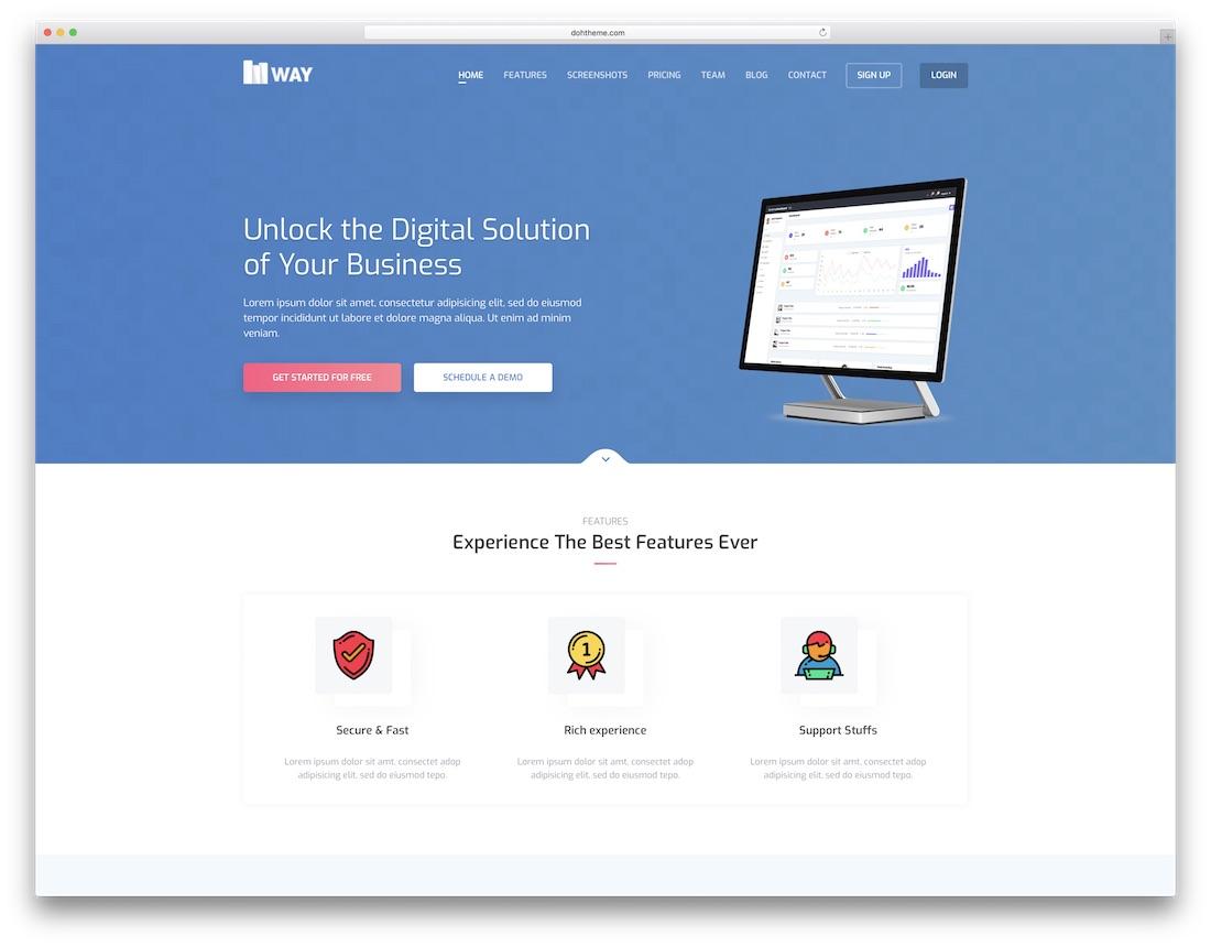 27 Best SEO Friendly Website Templates To Rank Better 2018 - Colorlib