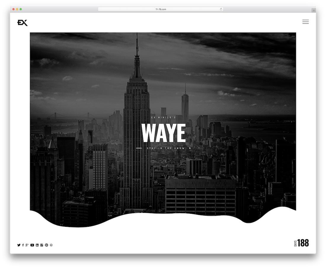 waye coming soon template