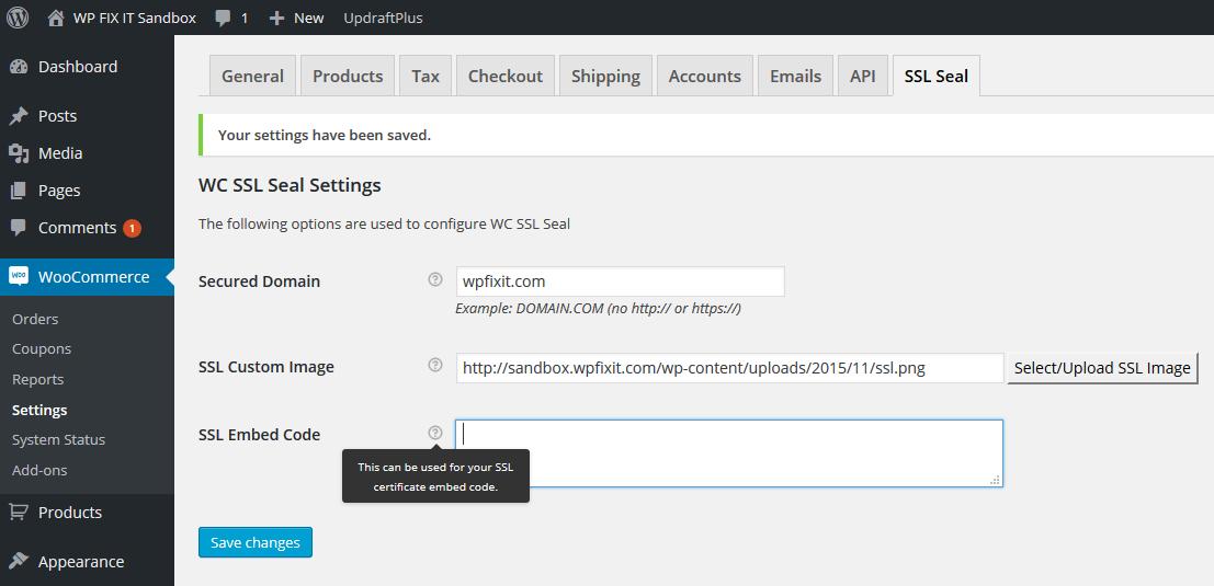 Configured WordPress SSL Plugins