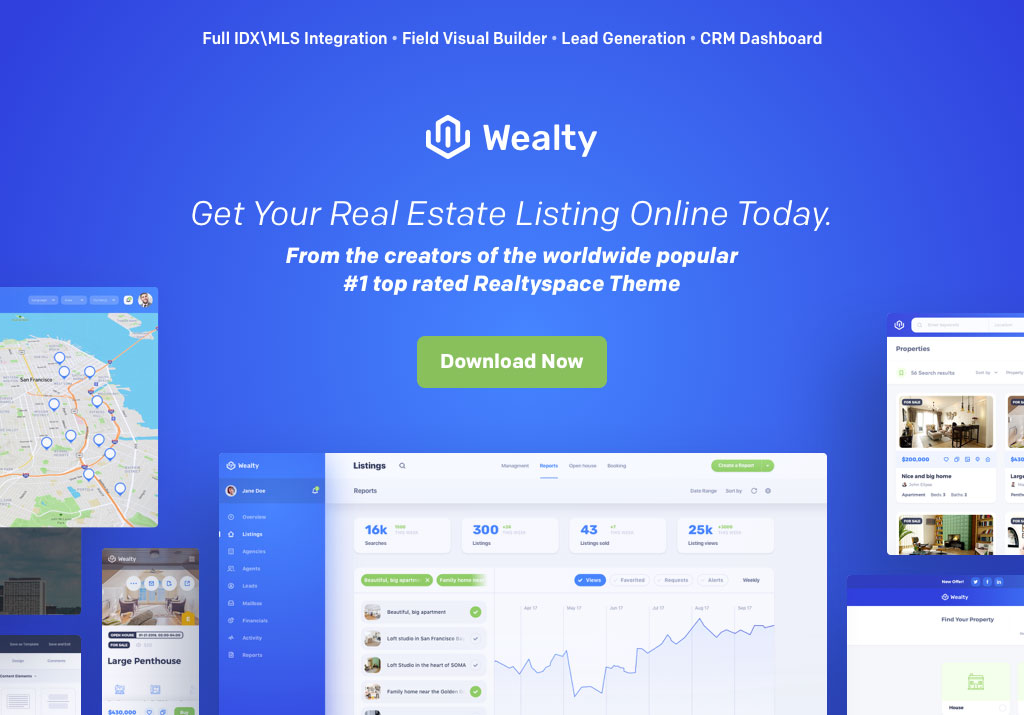 37 Real Estate WordPress Themes for Agents & Realtors 2019 - Colorlib