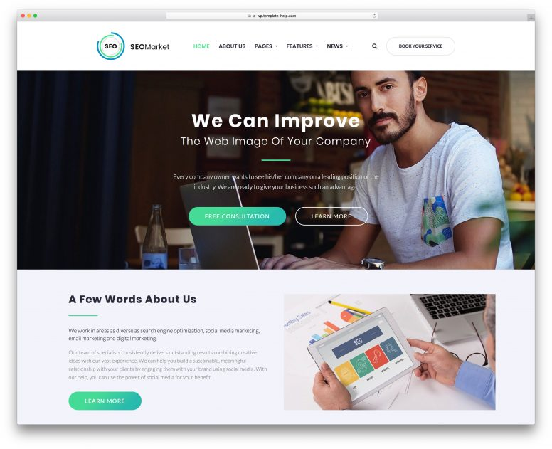 15 Best WordPress Themes For Web Agencies And SEO Companies