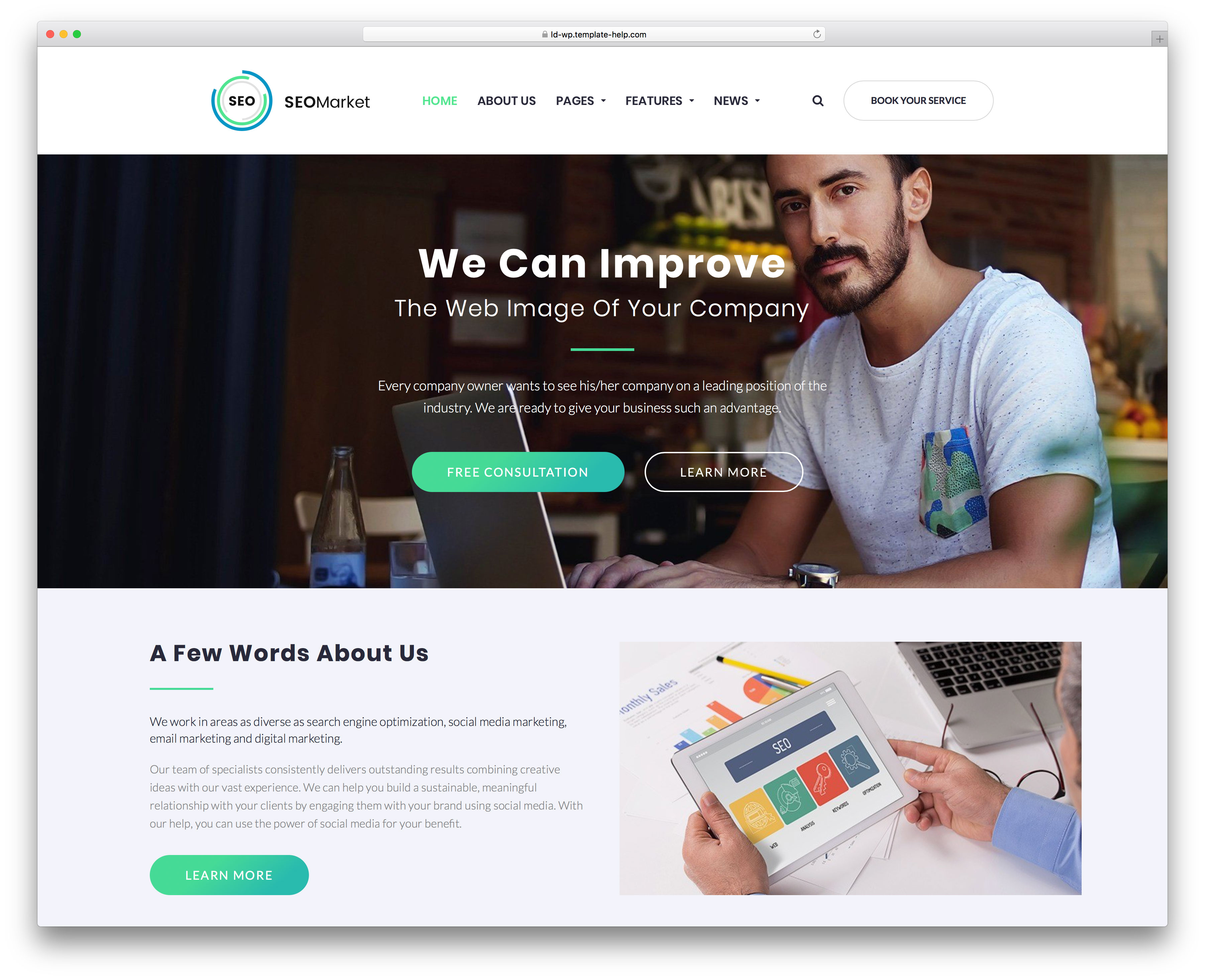 16 Best WordPress Themes For Web Agencies And SEO Companies