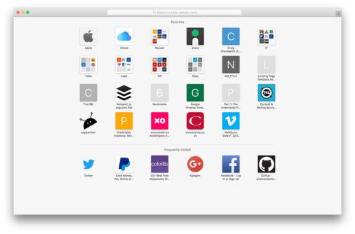 Web Browser Mockups