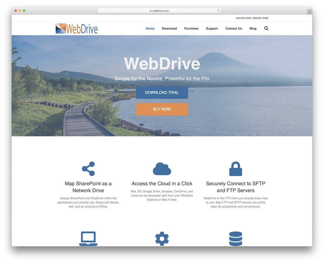 webdrive dropbox tool