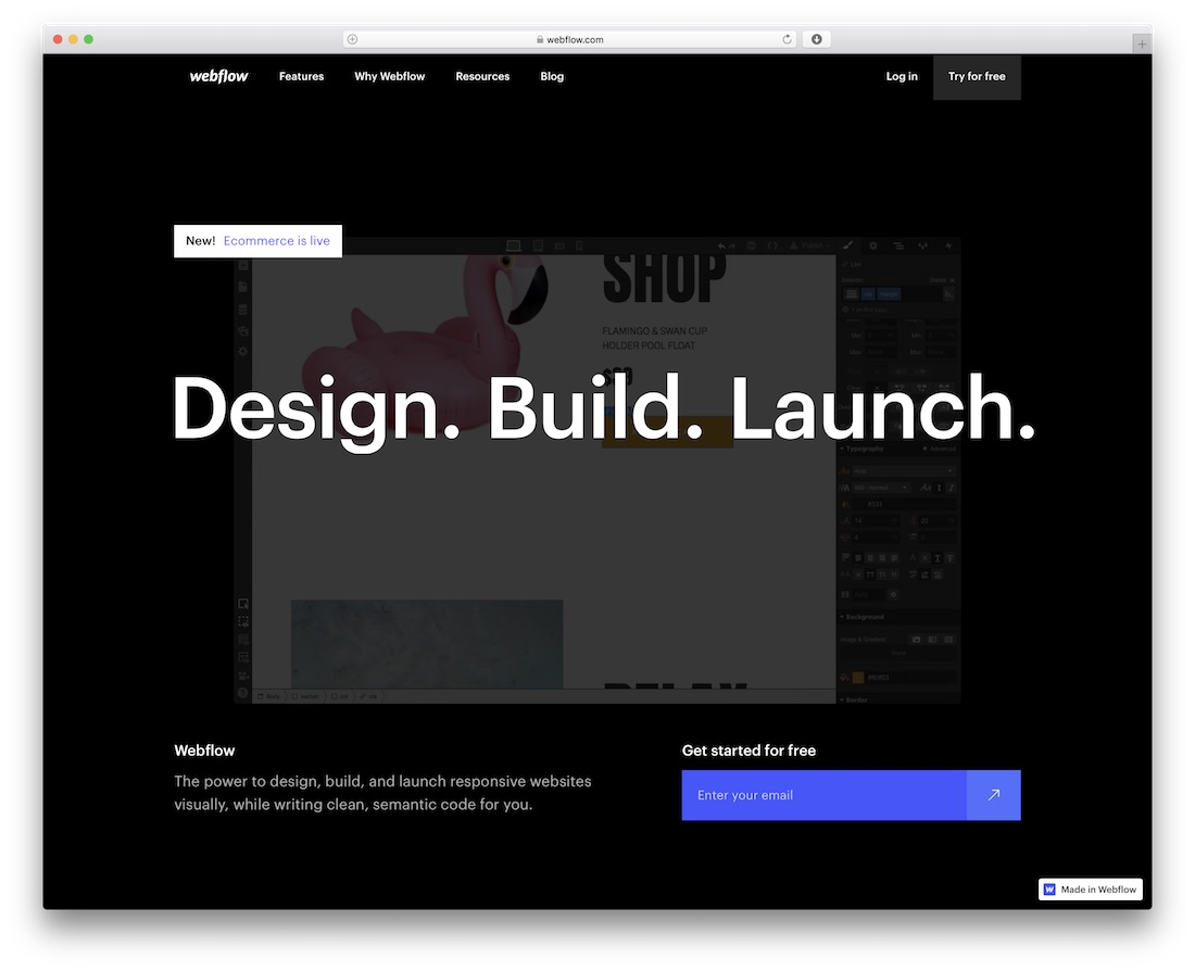 webflow beginner website builder