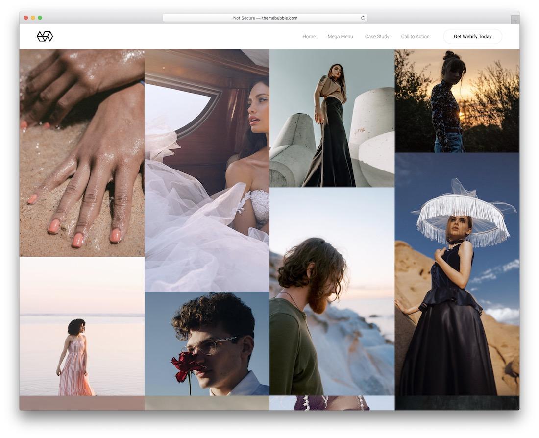 webify awesome wordpress portfolio theme