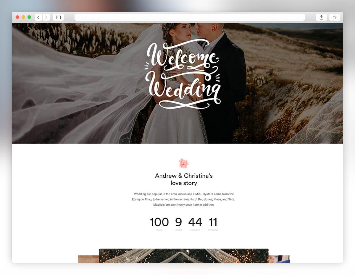 webify bridal wordpress theme
