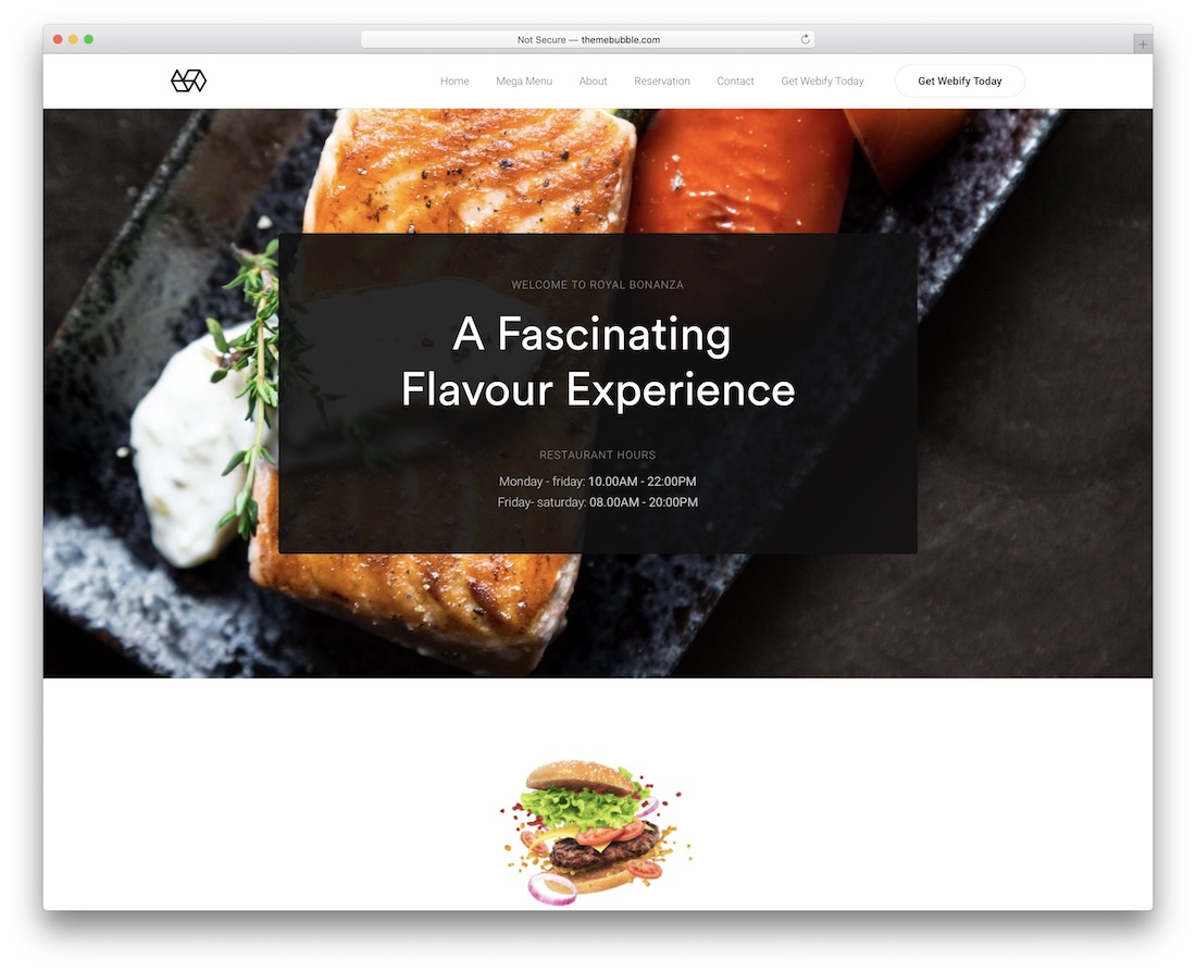 webify coffee shop wordpress theme