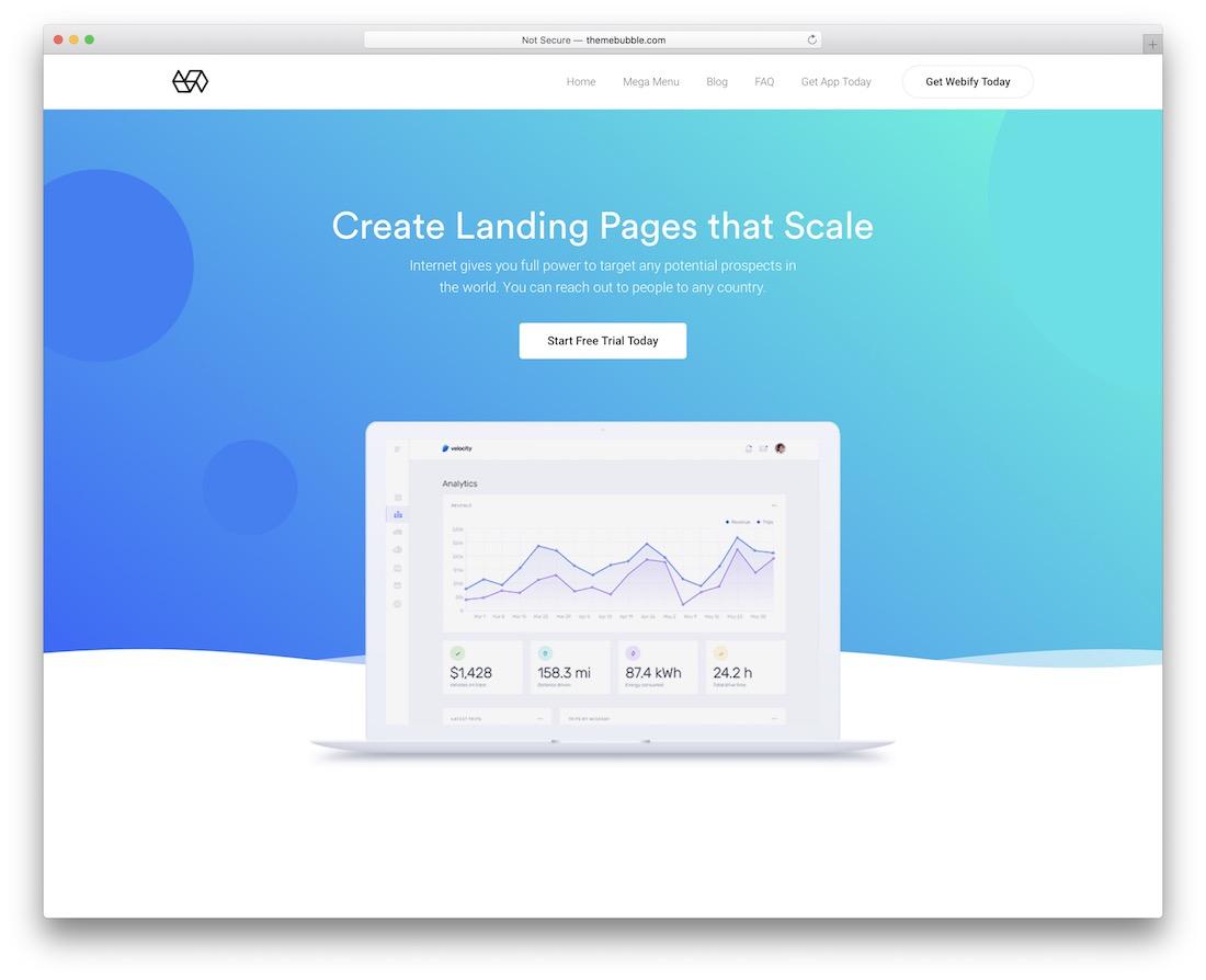 webify easy digital download theme