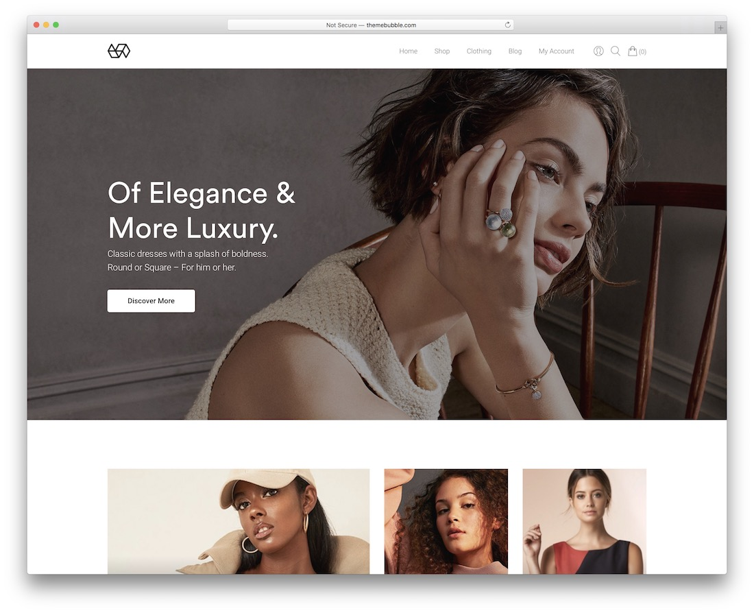 webify ecommerce website template