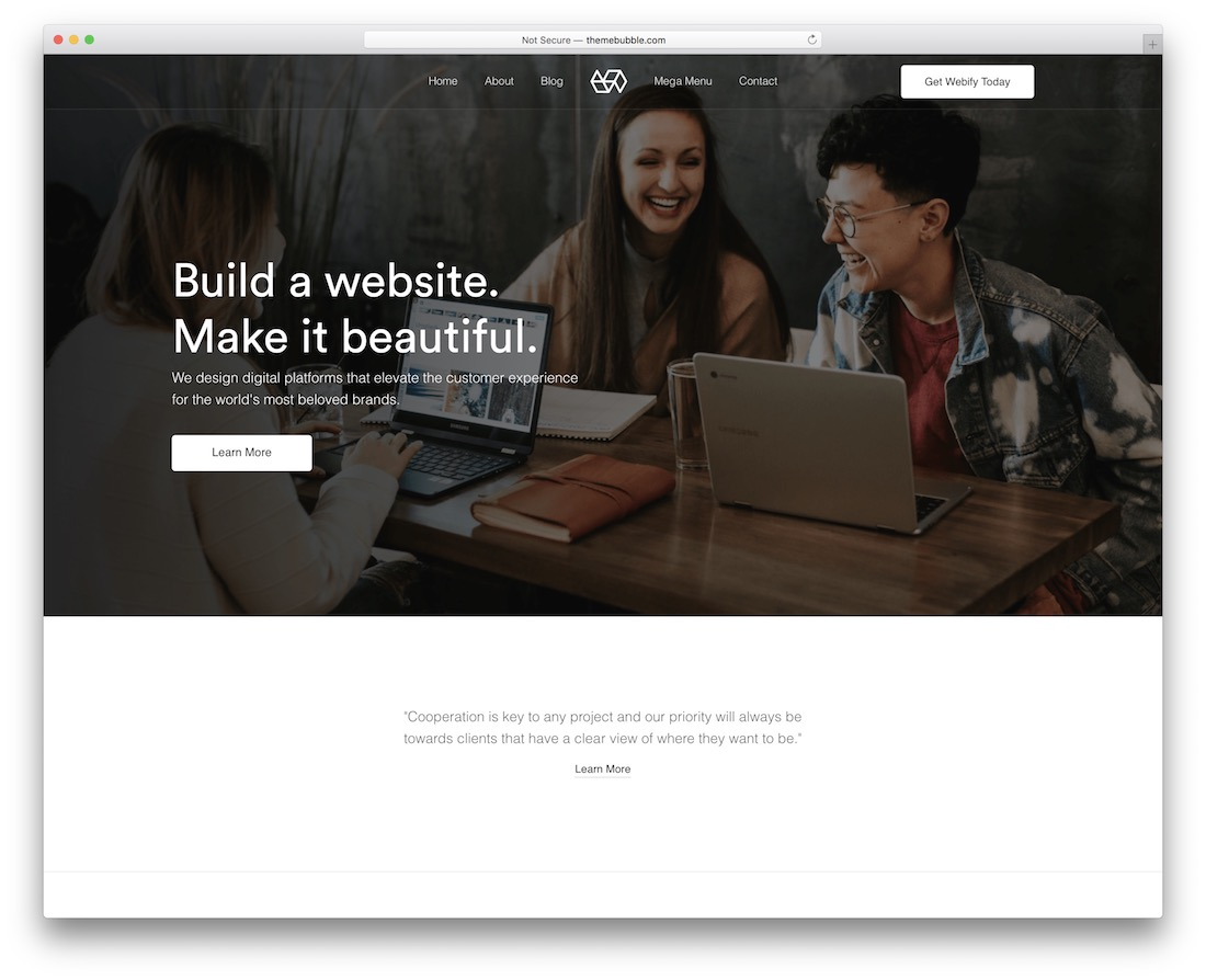 webify local business wordpress theme
