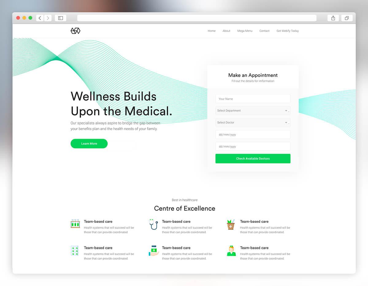 27 Best Medical Website Templates 2019 - Colorlib