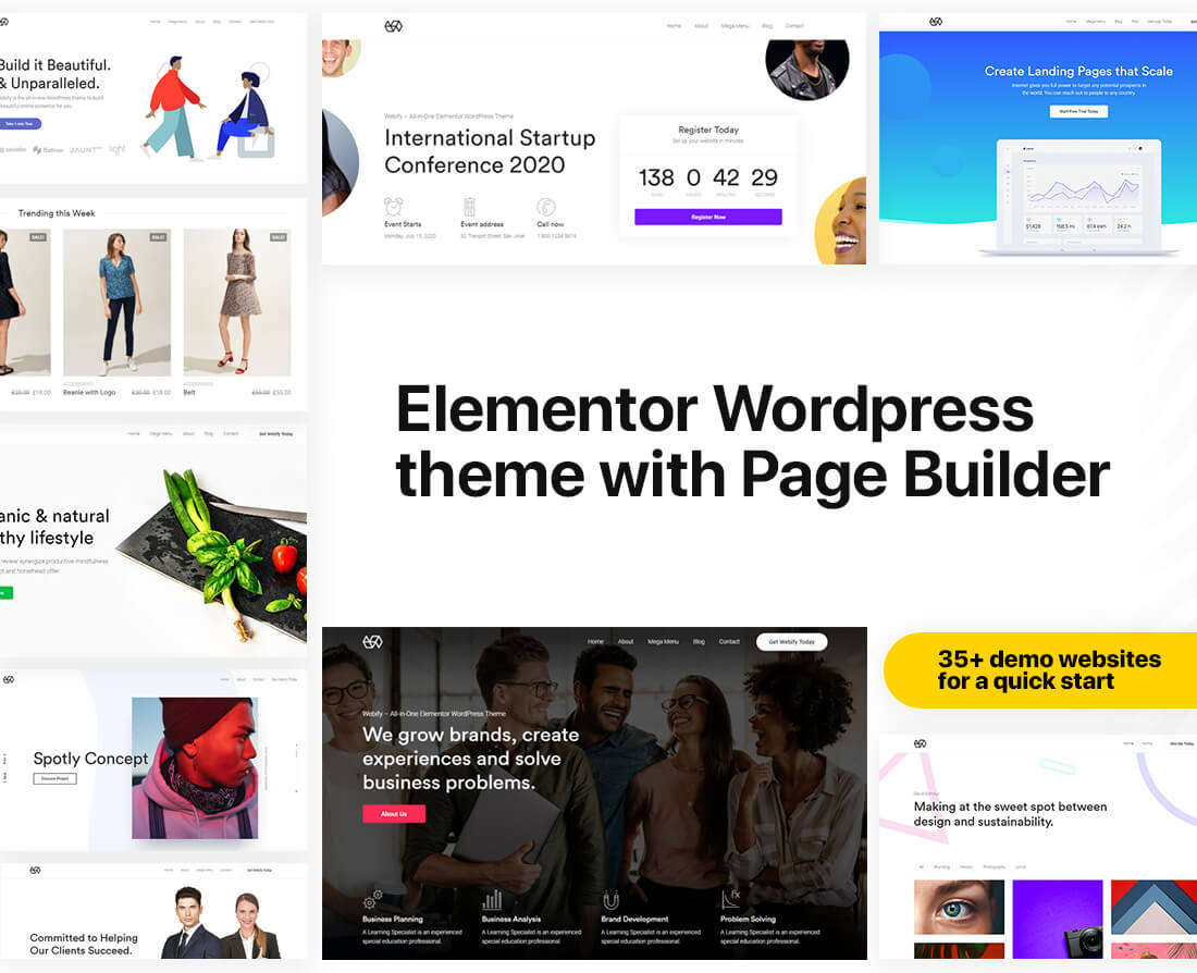 45 Most Popular Multipurpose WordPress Themes 2019 - colorlib